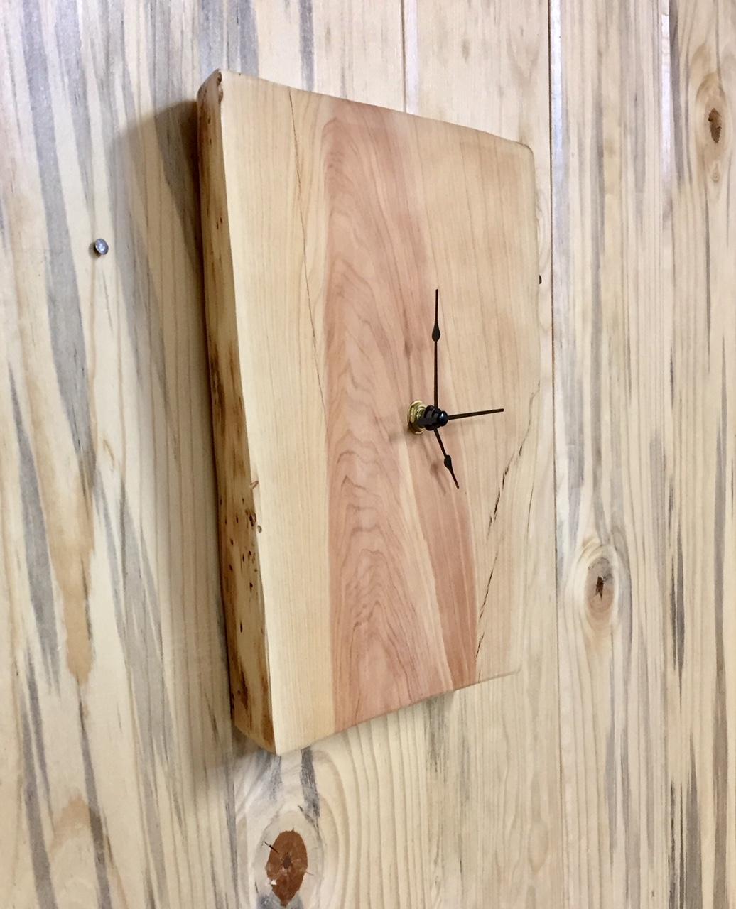 Urban Pine Wood Wall Clock